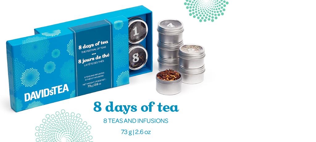 8 days of tea