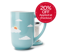 Cloudy Sky Colour Changing Nordic Mug