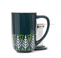 Green Pines Nordic Mug