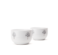 Snowy Trees Stout Teacups