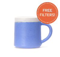 Akai Tall Mug Blue