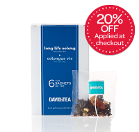 Long Life Oolong <br />(6 sachets)