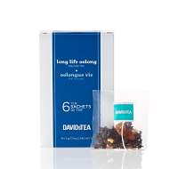 Long Life Oolong - box of 6 sachets