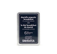 David's Organic Breakfast Tea Sachet Tin