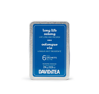 Long Life Oolong Tea Sachet Tin