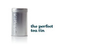 Silver tea tin 100g/4oz
