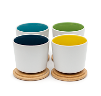 Noble Cup Set of 4