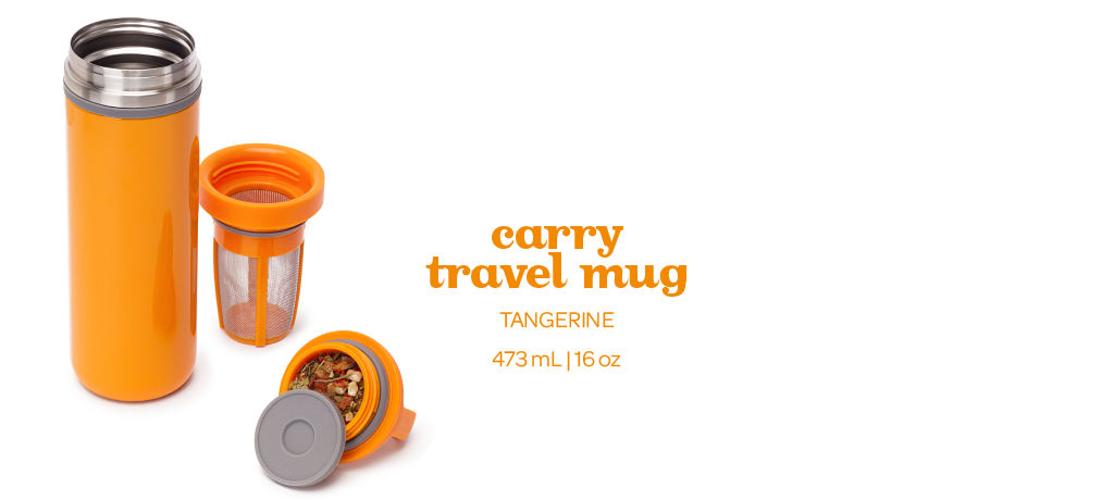 Carry Travel Mug By Davidstea