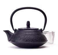 Midnight Maze Cast Iron Teapot