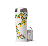 Citrus Grove Ceramic Travel Mug