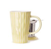 Lemon Yellow Textured Perfect Mug