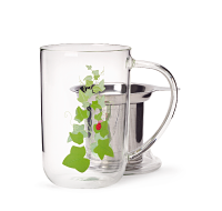 Vines Glass Nordic Mug