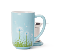 Sky Blue Dandelion Nordic Mug