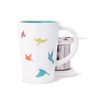 Multicolour Birds Perfect Mug