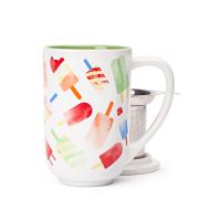 Green popsicles nordic mug