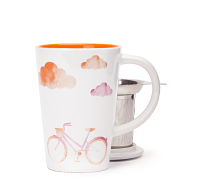 Bicycle clouds perfect mug