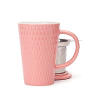 Flamingo textured perfect mug