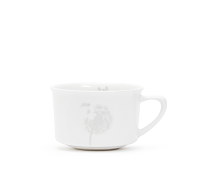 Silver Dandelion Bone China Teacup
