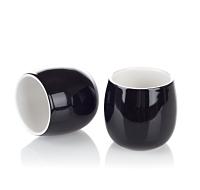 Black bubble teacups
