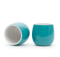 teal bubble teacup