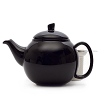 black bubble teapot (24oz)