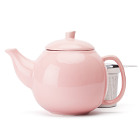 Frosted Pink Bubble Teapot  (24oz)