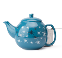 Night Sky Starburst Bubble Teapot  (24oz)