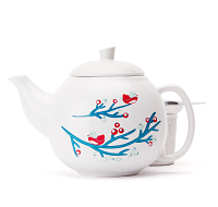 Berries Bird Bubble Teapot (24oz)