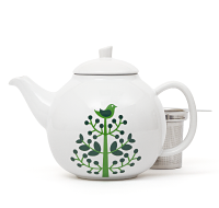Green Tree Bubble Teapot (45 oz)