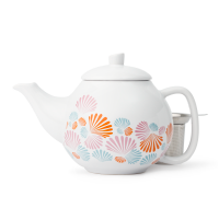 Multicolour Seashells Bubble Teapot (45 oz)