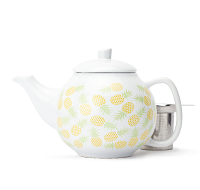 Yellow Pineapples Bubble Teapot (45 oz)