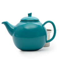 teal bubble teapot (45oz)