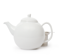 white bubble teapot (45oz)