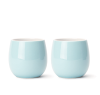 Sky Blue Bubble Teacups
