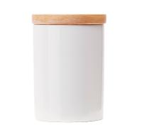 White Ceramic Tea Storage