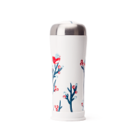 Berries Birds Ceramic Travel Mug