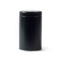 Black Coloured Tin 100 g/4 oz