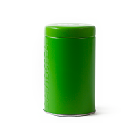 Green Coloured Tin