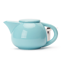 Sky Blue Dash Teapot