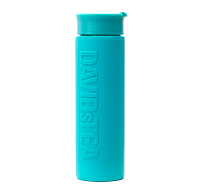 Teal Double Wall Travel Mug with Silicone