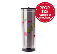 Multicolour Geese Stainless Tumbler