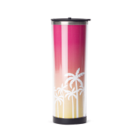 Multi Palms Stainless Tumbler