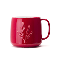 Red Wheat Tea Latte Mug
