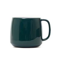 Midnight Green Latte Mug