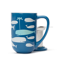 Colour Changing Whales Nordic Mug