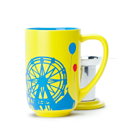 Yellow Carnival Colour Changing Nordic Mug