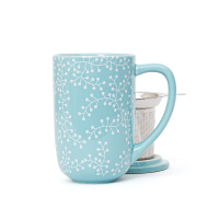Ice Blue Berries Nordic Mug