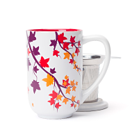 Multicolour Leaves Nordic Mug