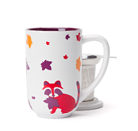Multicolour Raccoon Nordic Mug