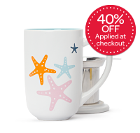 Multicolour Starfish Nordic Mug
